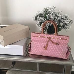 Dooney & Bourne tassel small pink satchel